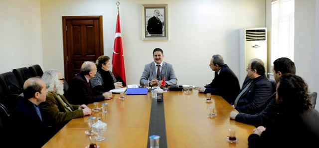 Sn. İlker Arıkan Başkanlığında İSTESOB Başkan Vekilimiz Sn. Mesut Şengül, odamızı temsilen oda Başkanı Dilek Camcı ve siz değerli meslektaşlarımızın katılımıyla gerçekleştirdiğimiz toplantımız.