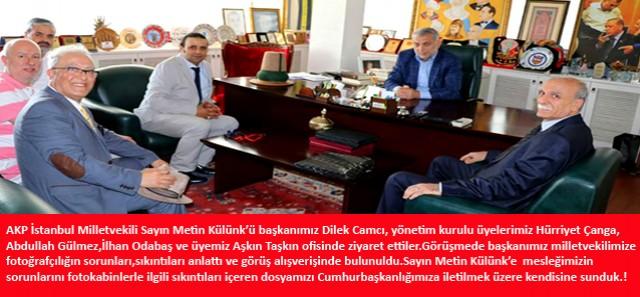 AKP Milletvekili Metin Külünk' ü Ziyaretimiz