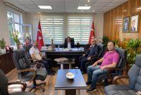 Şile Kaymakamı Sn.Mehmet Nebi Kaya'ya ziyaretimiz