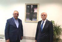 İBB Başkan Vekili Sn.Hüseyin Aksu'ya Ziyaretimiz